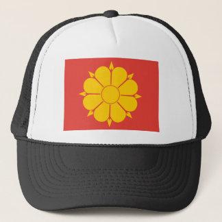Trondheim, North Korea flag Trucker Hat