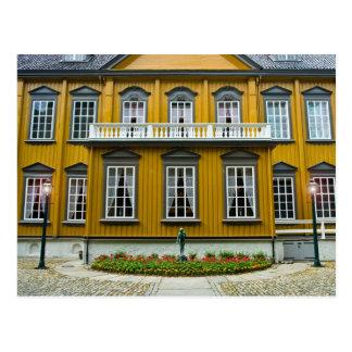 Trondheim The Royal Residence Stiftsgaarden Postcard