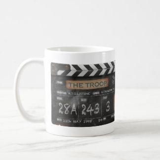 Troop Vintage Clapperboard Mug with your name