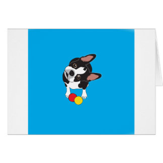 Trooper the Boston Terrier Card