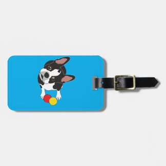 Trooper the Boston Terrier Luggage Tag