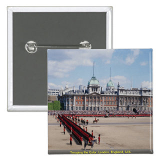 Trooping the Color, London, England, U.K. Pinback Buttons