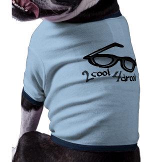 Trop cool pour la bave manteaux pour chien