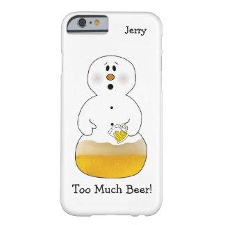 Trop de cas de l'iPhone 6/6S de bonhomme de neige Coque iPhone 6 Barely There