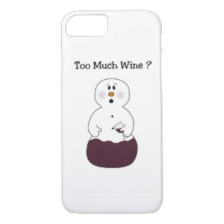 Trop de cas de l'iPhone 7 de bonhomme de neige de Coque iPhone 7