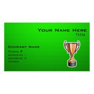 Trophée vert