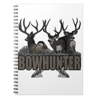 Trophy Bucks Bowhunter Spiral Notebooks