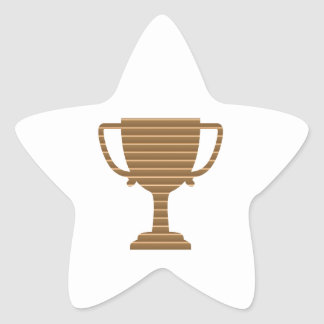 Trophy Cup Award Games Sports Competition NVN280 Star Stickers