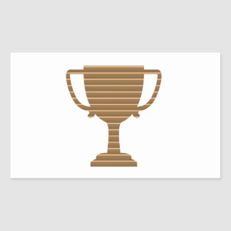 Trophy Cup Award Games Sports Competition NVN280 Rectangle Sticker