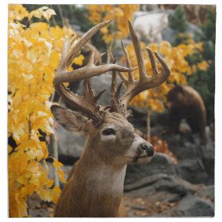 Trophy Deer Printed Napkins