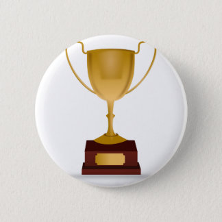 Trophy Drawing 2 Inch Round Button