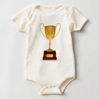 Trophy Drawing Baby Bodysuit