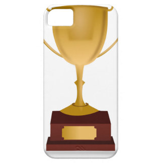 Trophy Drawing iPhone 5 Cover
