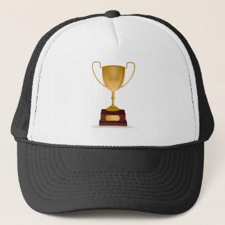 Trophy Drawing Trucker Hat