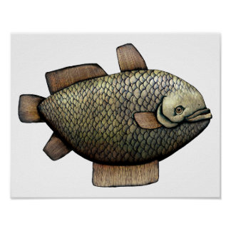 Trophy Fish Poster