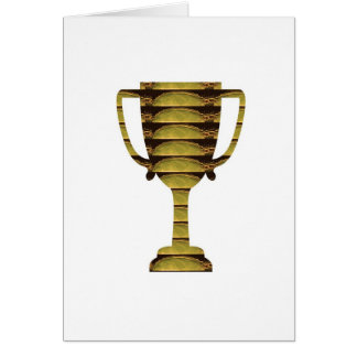 TROPHY GOLD: Business Success, Competition, Sports Card