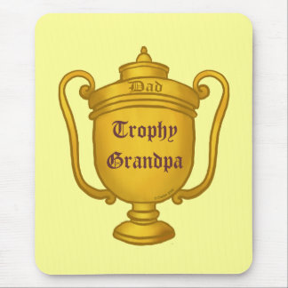 Trophy Grandpa Mouse Pad