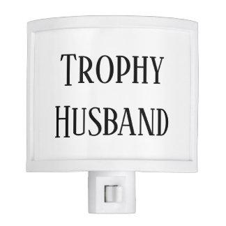 Trophy Husband Christmas Holiday Night Light