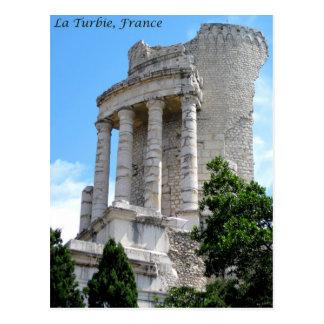 Trophy of Augustus, La Turbie, France Postcard