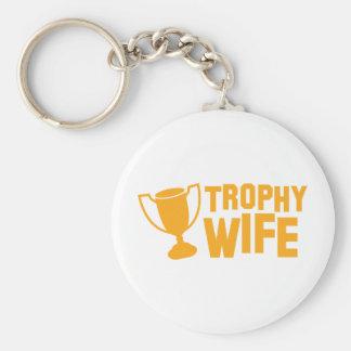 TROPHY wife Key Chains