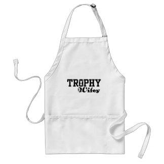 Trophy Wifey Standard Apron