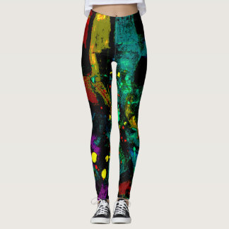 Tropic Abstract Leggings