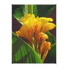 Tropic Flower Canvas Print