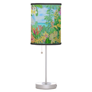 Tropic Gold Table Lamp