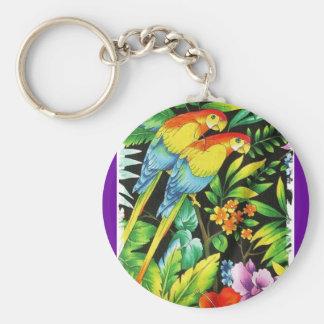 tropic@l summer keychain