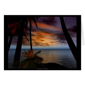 Tropic Sky Card