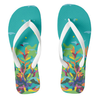 Tropic Toes Flip Flops
