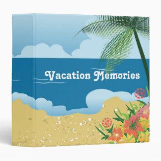 "Tropical 1.5"" Vacation Memories Binder"