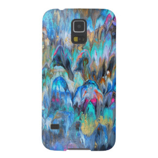 Tropical Abstract Galaxy S5 Covers