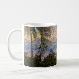Tropical Abstract Landscape Coffee Mug