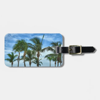 Tropical Afternoon Personalized Luggage Tag