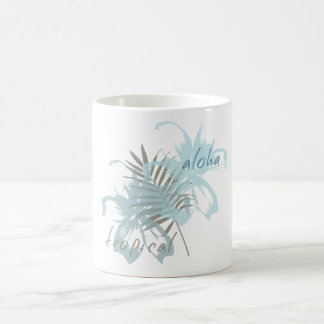 Tropical Aloha Flowers Coffee Mug