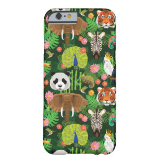 Tropical Animal Mix Barely There iPhone 6 Case