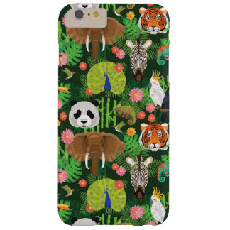 Tropical Animal Mix Barely There iPhone 6 Plus Case