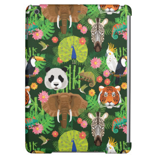 Tropical Animal Mix Case For iPad Air