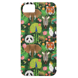 Tropical Animal Mix Case For The iPhone 5