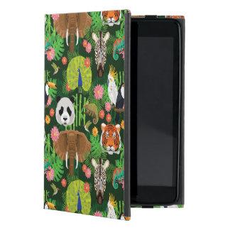 Tropical Animal Mix iPad Mini Cases