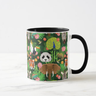 Tropical Animal Mix Mug