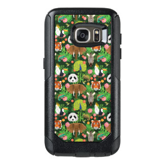 Tropical Animal Mix OtterBox Samsung Galaxy S7 Case