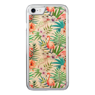 Tropical Apple Iphone 7 Maple Wood Case