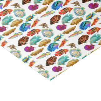 Tropical Aquarium Fish Tissue Paper