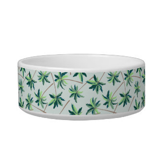 Tropical Australian foxtail palm Bowl
