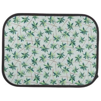 Tropical Australian foxtail palm Car Mat