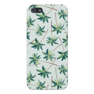 Tropical Australian Foxtail Palm iPhone 5/5S Cases