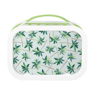 Tropical Australian foxtail palm Lunch Box