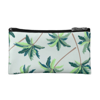 Tropical Australian foxtail palm Makeup Bag